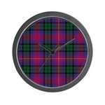Tartan - MacInroy of Lude Wall Clock