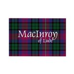 Tartan - MacInroy of Lude Rectangle Magnet