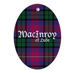 Tartan - MacInroy of Lude Ornament (Oval)