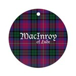 Tartan - MacInroy of Lude Ornament (Round)