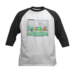 Irritable Vowels Kids Baseball Jersey