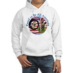 Chewie and Lucky Flag Hooded Sweatshirt