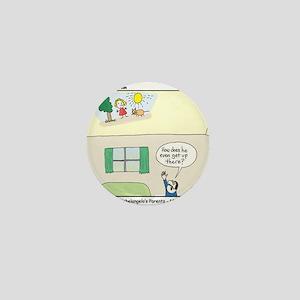 Michelangelo Jr. Mini Button