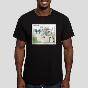 Punct Men's Fitted T-Shirt (dark)