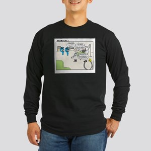 Punct Long Sleeve Dark T-Shirt