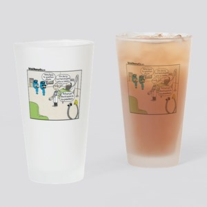Punct Drinking Glass
