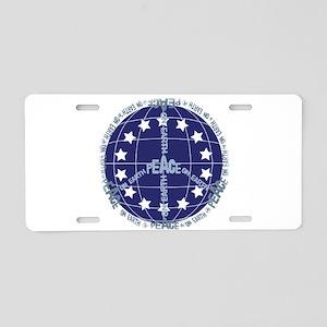 World Peace Anti War Aluminum License Plate