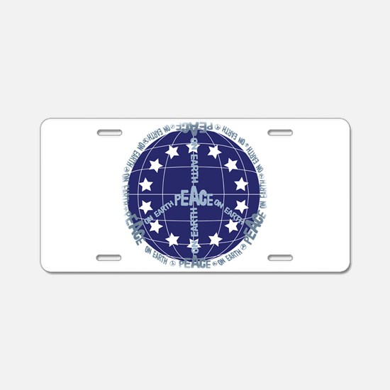 World Peace Anti War Aluminum License Plate