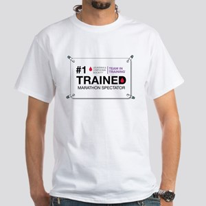#1 Trained Spectator White T-Shirt