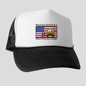 School Bus Precious Cargo Trucker Hat