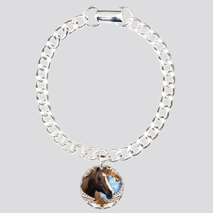 I'd Rather Be Riding, Horse Charm Bracelet, One Ch