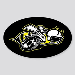 Super Bee Basic Sticker (Oval)