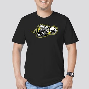 Super Bee Basic Men's Fitted T-Shirt (dark)