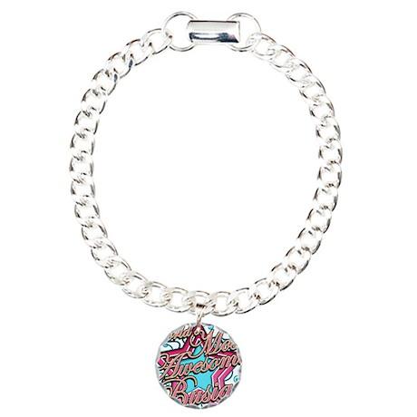 Worlds Best Busia Charm Bracelet, One Charm