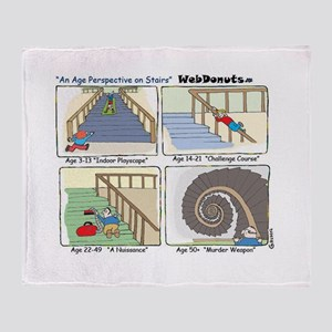 """""""Stairs"""" Throw Blanket"""