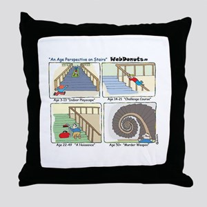 """Stairs"" Throw Pillow"
