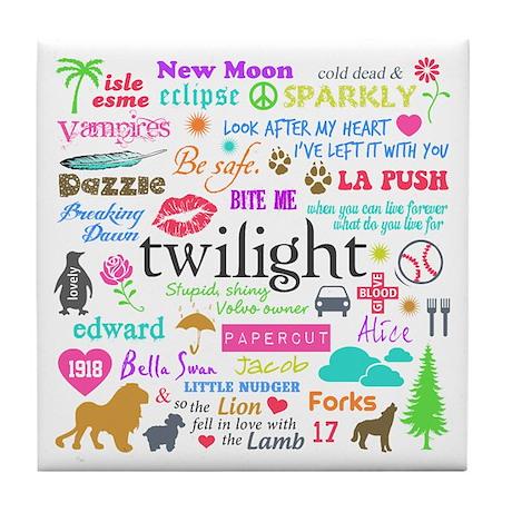Twi Memories Pastel Tile Coaster