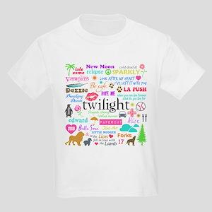 Twi Memories Pastel Kids Light T-Shirt