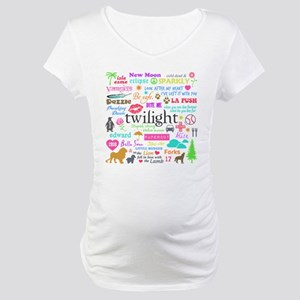Twi Memories Pastel Maternity T-Shirt