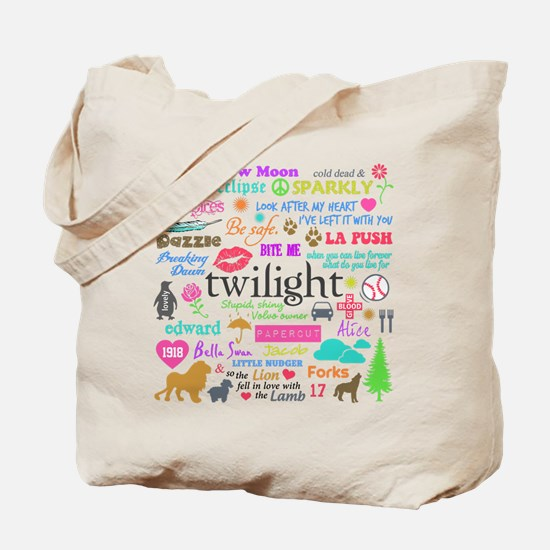 Twi Memories Pastel Tote Bag