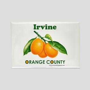 Irvine, Orange County Rectangle Magnet