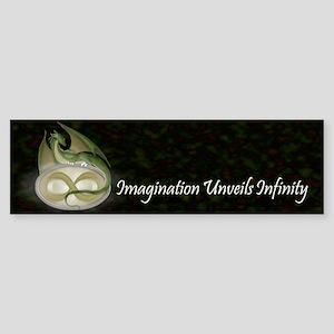 Infinite Imagination Sticker (Bumper)