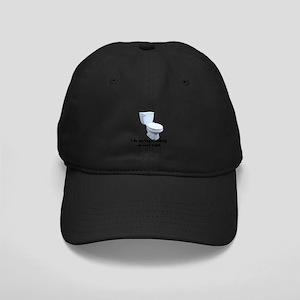 Roof Toilet Black Cap