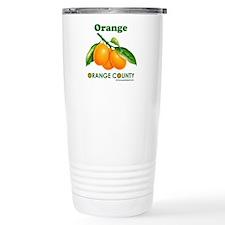 Orange, Orange County Stainless Steel Travel Mug