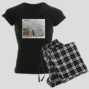 AutoCorrecting Women's Dark Pajamas