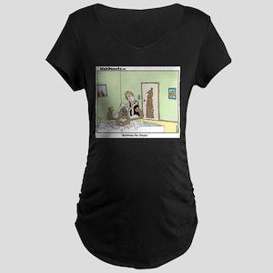 Bathtime Maternity Dark T-Shirt