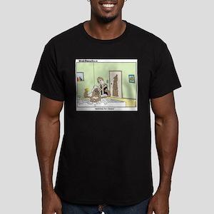 Bathtime Men's Fitted T-Shirt (dark)