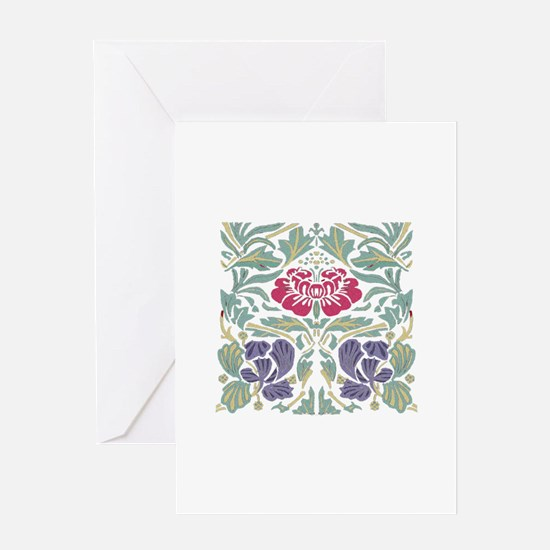 Morris Rose Greeting Card