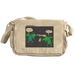 Astronaut Tetherball Messenger Bag