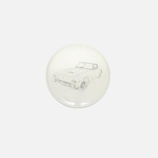 Ferrari 250 Lusso Mini Button