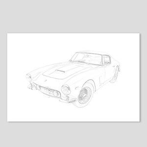 Ferrari 250 Lusso Postcards (Package of 8)