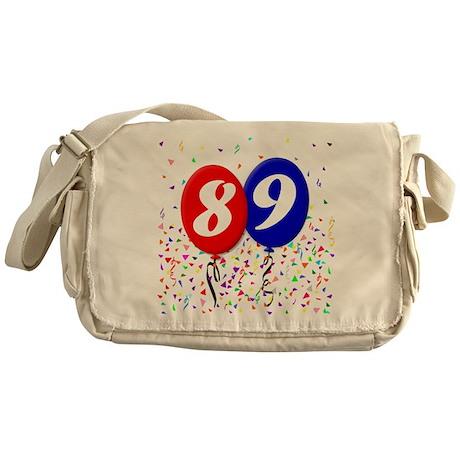 89th Birthday Messenger Bag