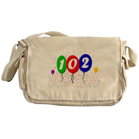 102nd Birthday Messenger Bag