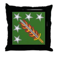 20th SupCom CBRNE Throw Pillow