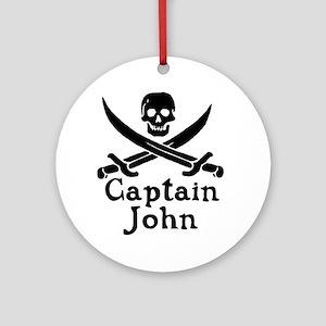 Captain John Ornament (Round)