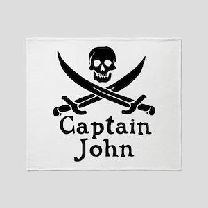 Captain John Throw Blanket