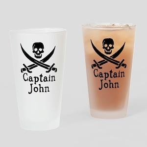 Captain John Drinking Glass