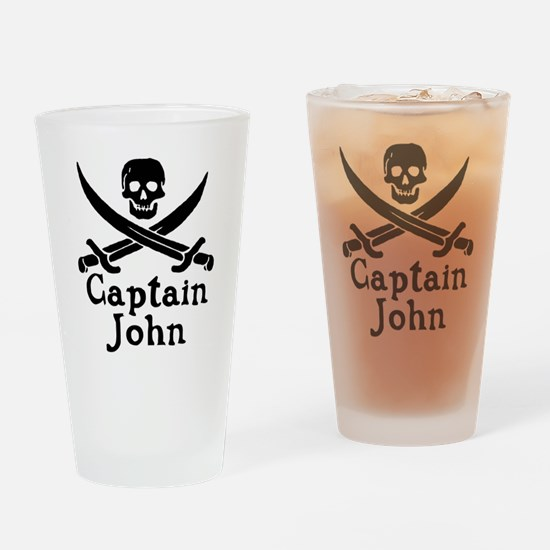 Captain John Drinking Glass