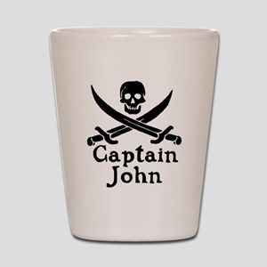 Captain John Shot Glass