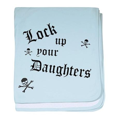 Lock Up Your Daughters baby blanket