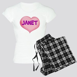 janet heart Women's Light Pajamas
