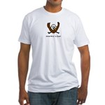 Occupy Wall Street Democracy Fitted T-Shirt
