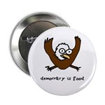 "Occupy Wall Street Democracy 2.25"" Button (10"