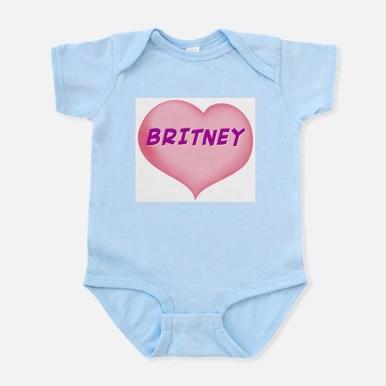 britney heart Infant Bodysuit