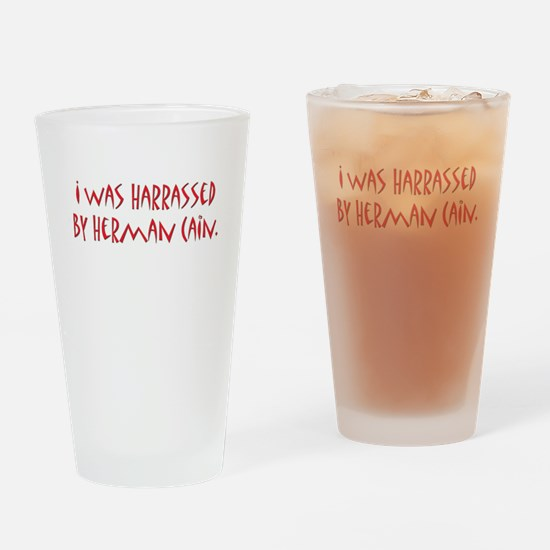 Funny Herman cain Drinking Glass