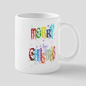 Colorful Merry Christmas Mug